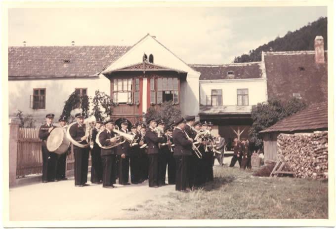 Ausrückung in Scheiblingkirchen um 1950