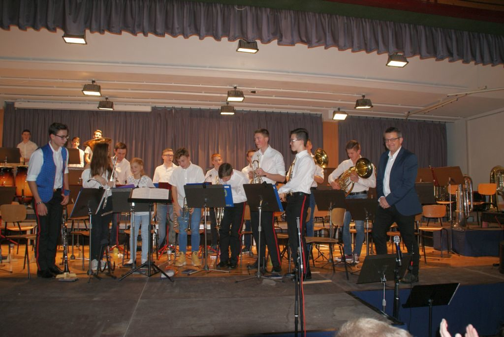 """Jugendblasorchester der Musikschule """"von Paradis"""""""