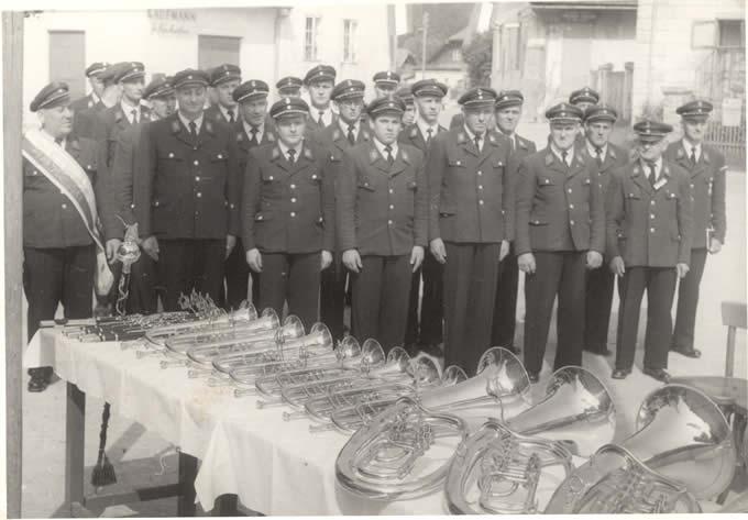 Instrumentenweihe im Jahr 1959