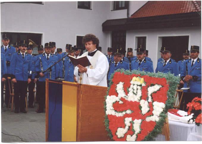Eröffnung des Musikheimes am 10. Oktober 1992